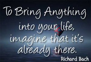 richard bach visualization quote