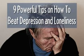 how to beat depression and loneliness