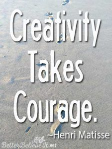 creativity takes courage henri matisse quote